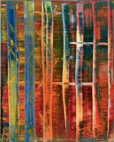 Gerhard Richter. Abstraktes Bild (Abstract Painting), 1992. Oil on canvas, 200 x 160 cm, signed and dated on reverse. Museum Friede...