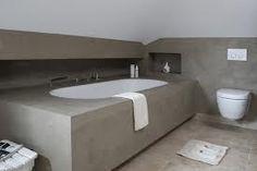 Badkamer Met Beton : Betonlook badkamer beton ciré betonlook badkamer afgewerkt met
