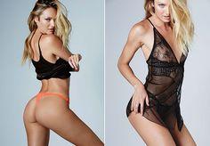 Candice Swanepoel quase mostra demais em ensaio de lingerie   Ofuxico
