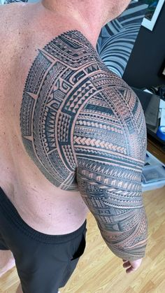 Polynesian Tattoo Sleeve, Maori Tattoo Arm, Forearm Band Tattoos, B Tattoo, Samoan Tribal Tattoos, Polynesian Tattoo Designs, Tribal Tattoos For Men, Maori Tattoo Designs, Tattoo Sleeve Designs