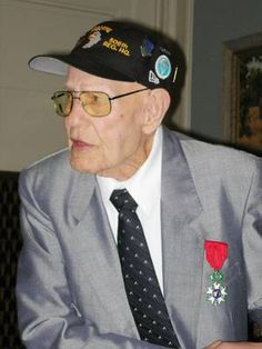 """1/22/13 James McNiece died in his home in Ponca City OK at the age of 93. He was the leader of the group that came to be known as the """"Dirty Dozen"""". Hours before the June 6, 1944, D-Day invasion, he led 18 paratroopers behind enemy lines to destroy two bridges and control a third to prevent German reinforcements from moving into Normandy and to cut off retreating German troops. 16 of his men were killed during the 36 day mission, in which they also cut enemy communications and supply lines."""