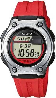 Zegarek unisex Casio Sportowe W-211-4A