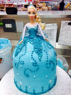Elsa from Frozen Email me for cakes!  Belongstomord@gmail.com Frisco tx