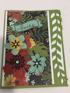 Stampin' Up Botanical Blooms