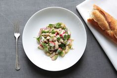 White Bean Salad with Tarragon Recipe on Food52, a recipe on Food52 White Bean Recipes, Bean Dip Recipes, Herb Recipes, Vegan Recipes, White Bean Hummus, White Bean Soup, White Beans, Barbecue Side Dishes, Prosciutto Recipes