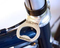 Bicycle Bottle Opener Headset Spacer, Bike Beer Opener, great gift...