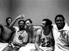1970 NY Knicks-  NBA Champioons  Dick Barnett, Walt (Clyde)Frazier,  Bill Bradley, Dave Debusschere and Willis Reed!!