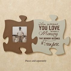 Puzzle Piece Wall Decor love and marriage photo frame puzzle piece wall art | puzzle piece