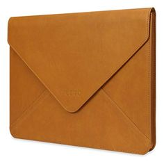 Plemo PU Leather Sleeve for iPad Pro / MacBook Air / MacBook Pro / Notebook / Ultrabook / Chromebook - 13-13.3 Inches - Brown Plemo