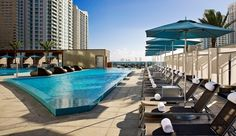 Epic Hotel: Epic Hotel's 16th-floor pool offers a refreshing escape in the heart of downtown Miami.
