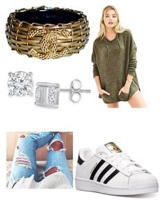 """Untitled #167"" by journeycarothers on Polyvore featuring Ecote, adidas, Chanel and TruMiracle"