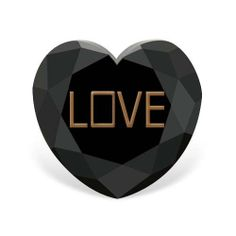 8.23 carat AA - AA Quality Heart Shaped Rose Cut Black Color Loose Real Diamond http://www.diamondzul.com/