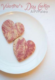 Valentine's Day Sugar Cookies (AIP/Paleo)