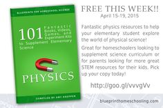 Recommendations for Homeschool Physics!