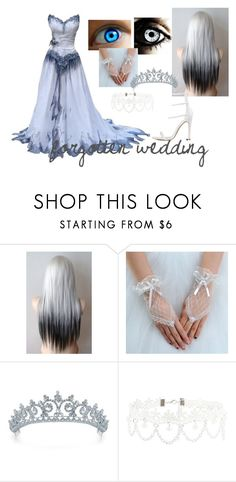 """Forgotten wedding"" by eyeless-angel-of-death ❤ liked on Polyvore featuring Bling Jewelry and New Look"