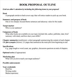 See 9 Best Images of Book Proposal Template. Sample Book Outline Template Manuscript Book Proposal Template Book Proposal Sample Non Fiction Book Outline Template Sample Book Proposal Cover Letter Book Proposal, Proposal Sample, Proposal Writing, Story Outline Template, Plot Outline, Outline Sample, Letter Sample, Writing Challenge, Writing Tips