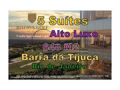 Apartamento de 5 dormitórios sendo 5 suítes Localizado no bairro Barra da Tijuca de Rio de Janeiro