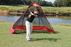 RUKKNET: The Original Pop-Up Golf Net w/ Ball Return Feature (10x7x5) Golf Hitting Net, Backyard Swings, Outdoor Furniture, Outdoor Decor, Pop Up, Indoor, Gift Ideas, Unique, Shopping