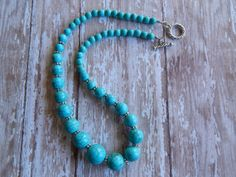 Chunky Necklace. by NomadTrade on Etsy, $30.00