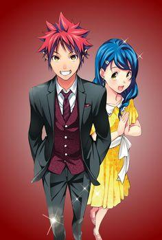 Shokugeki no Soma || Soma and Megumi