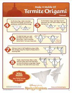 Monkey Kingdom Termite Origami