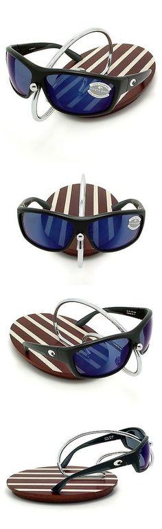 85ed363ddce Sunglasses 151543  New Costa Del Mar Saltbreak Black 580 Blue Mirror  Plastic 580P -