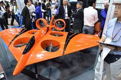 Photos: About 50 companies are showing their latest products in Japan's first drone exhibition.