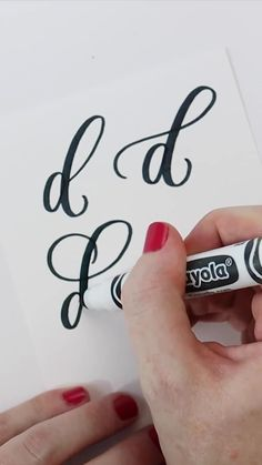 Calligraphy Lessons, Calligraphy Video, Calligraphy Tutorial, Calligraphy Cards, Hand Lettering Tutorial, Hand Lettering Alphabet, Doodle Lettering, Hand Lettering Quotes, Creative Lettering