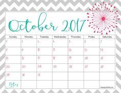21 best October 2017 Calendar images on Pinterest ...