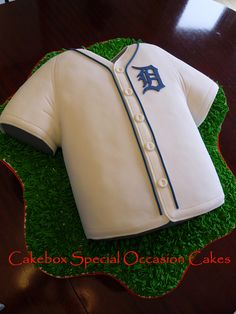 Tigers Jersey by Cakebox Special Occasion Cakes, via Flickr