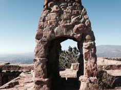 Ruins of Knapp's Castle, Los Padres National Forest, Santa Barbara