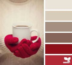 Winter love of coffee colors!!!