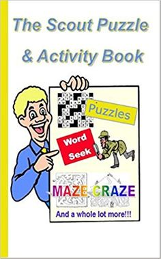 Can you complete the whole book? Activity book aimed at scouts makes you think! A fun gift idea for any scout! And popular present prized for its imaginativeness.