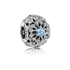 This stunning and intricate design, encrusted with 63 sparkling stones in a combination of white and blue, captures the magic of the Disney Cinderella story and makes a fitting tribute to a unique and timeless love story. #PANDORAlovesDisney