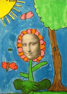 Art with Mrs. Seitz: Mona Lisa Parodies (this looks like a lot of fun)