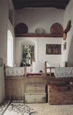 Interior Flat, Interior And Exterior, Home Design, Ethno Design, Greek House, Interior Decorating, Interior Design, My Dream Home, Home And Living