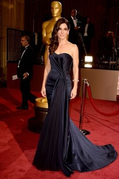 3. Sandra Bullock At The Oscars In Hollywood