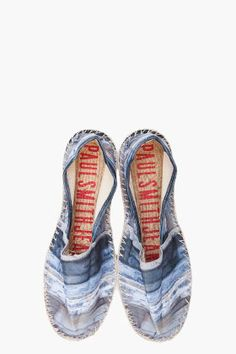 PAUL SMITH JEANS Blue espadrille Shoes