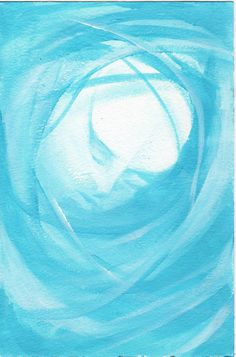 """In The Blue"" inspired art by Jennifer Buerkli, Woodbury, NJ"