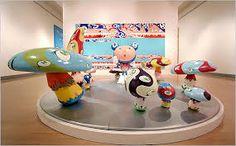 takashi murakami sculpture - Pesquisa Google