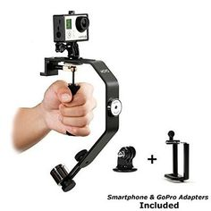 Mandalaa Mini Handheld Camera Stabilizer Durable Video Recorder Steadicam Portable Smartphone Stand for iPhone for GoPro stabilizer