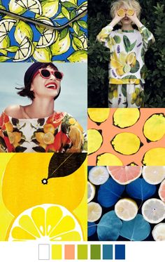 It's summer. Summer means bright color and fruits and citrus. Seeing citrus print just makes me jolly