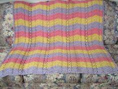 Spring Pastel Afghan | FaveCrafts.com