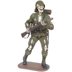 Soldier Skeleton Statue