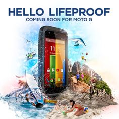 Motorola unveiled its latest smartphone technology and we're thrilled to announce LifeProof for Motorola Moto G will be coming soon! Stay tuned for more information. http://www.lifeproof.com/shop/us_en/motorola-g/motorola-g-fre-case/