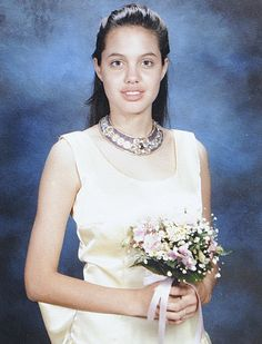 Angelina Jolie prom photo http://celebrity-childhood-photos.tumblr.com/