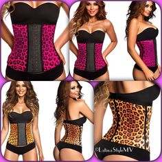 Waist Trainer Ann Cherry Waist Trainers Latex material . 3Hooks ✅ Imported Colombian Product ✅ Cheetah print design in Pink or Yellow . Choose your fav' color . Intimates & Sleepwear Shapewear