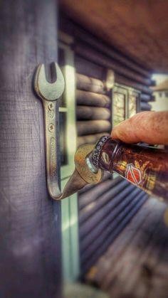 Tool guy bottle opener......