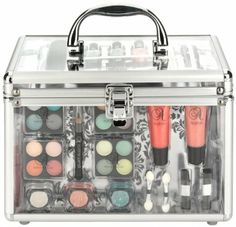 Technic Essentials Clear Carry Case Make-up Set.