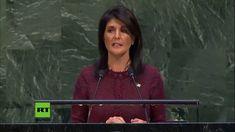 """Die Droh-Rede der USA vor den UN in ganzer Länge - """"Wir werden uns jedes..."""